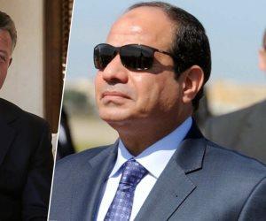السيسي يلتقي الملك عبد الله الثاني قبل لقائه بترامب