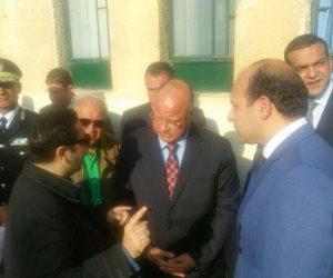 مدير أمن القاهرة يتابع الحماية المدنية لتبريد حريق نادي الجزيرة