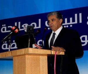 وزير البيئة يتفقد مصنع تدوير مخلفات العدوة في المنيا اليوم