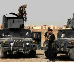 القوات العراقية والبيشمركة تحاصر 100 مسلح من (داعش) بشمال غرب تلعفر
