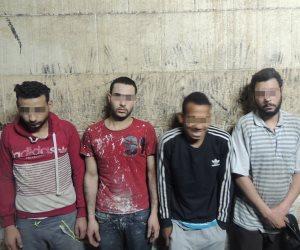 القبض على 4 عمال أثناء تنقيبهم عن الآثار داخل عقار بالسيدة عائشة