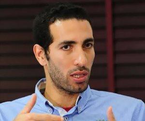 أبو تريكة يقدم العزاء فى وفاة مصطفى الكيلانى عبر فيس بوك