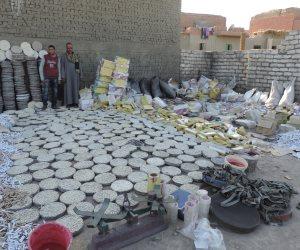 ضبط ٢٢ طن ألعاب نارية قادمة من الصين داخل شحنة «غراء» في الإسكندرية