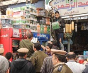 شرطة التموين تلاحق الخارجين عن القانون على مستوى الجمهورية