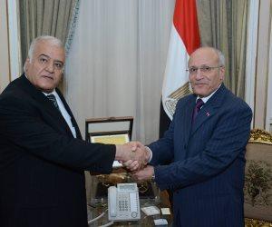 «العصار» يبحث سبل التعاون المصري الأردني في مجالات التصنيع الدفاعية (صور)