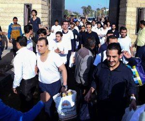 الإفراج عن 240 نزيل بعفو رئاسي و431 سجين بالإفراج الشرطي