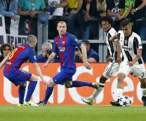 دوري الأبطال.. التعادل السلبي يحكم الشوط الأول بين برشلونة ويوفنتوس