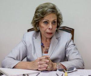 مرفت التلاوي تطالب بتطبيق قرار مجلس الأمن 1325 وتشارك في مسيرة السلام بكوريا