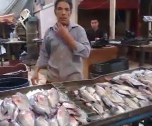 الأسماك قبل شم النسيم «نار».. الرنجة بـ50 جنيها.. والفسيخ بـ150.. والملوحة تتخطى الـ110 (فيديو)
