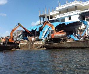 الري: 27936 إزالة على نهر النيل في 5 شهور