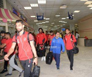 لاعبو الأهلي في الصعيد استعدادا لمواجهة أسوان (صور)