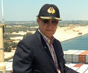 مميش: عبور 150 سفينة  قناة السويس خلال ثلاثة أيام بحمولات 10 ملايين و800 ألف طن