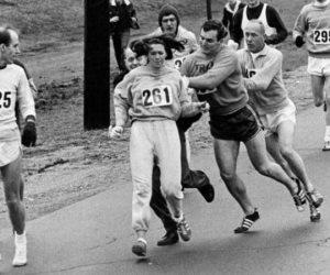 كاترين كسرت الحواجز وكانت أول امرأة تشترك في ماراثون بوسطن منذ 50 عاماً