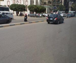 سيولة مرورية بمعظم محاور وميادين القاهرة والجيزة