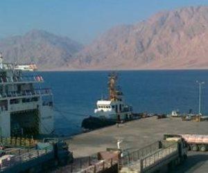 وصول ومغادرة 14 سفينة وعبارة بموانئ البحر الأحمر