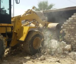 استرداد الأراضي.. تنفيذ 50 قرار إزالة تعديات على أملاك الدولة بسوهاج