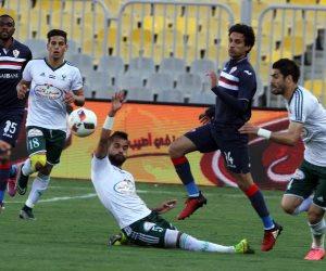 75 دقيقة.. المصري يحافظ على التقدم والزمالك يبحث عن التعادل (فيديو)