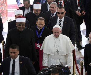 تعرف على الكلية الإكليريكية التي التقى بها بابا الفاتيكان ممثلي الكنائس؟