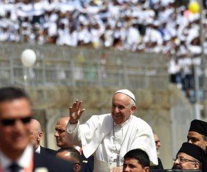 بابا الفاتيكان لرؤساء الكلية الإكليريكية: أشكر المصريين على حسن استقبالهم