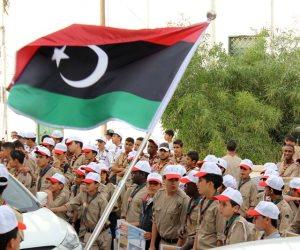 رئيس الرئاسي الليبي يلتقي ضباطا من الجيش الليبي في طرابلس