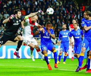 يوفنتوس يقسو على موناكو بثنائية في دوري أبطال أوروبا (فيديو)