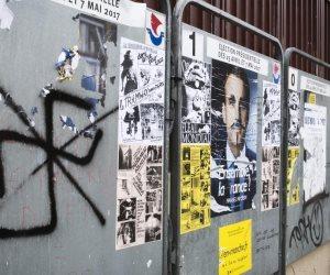 الانتخابات الفرنسية.. بين المقاطعة وتخريب البوسترات الدعائية (صور)