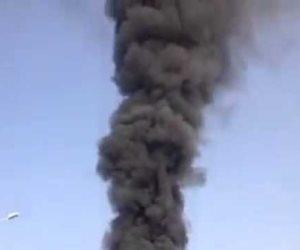 مصرع 3 عمال فى حريق بمستودع خشب بمكة المكرمة