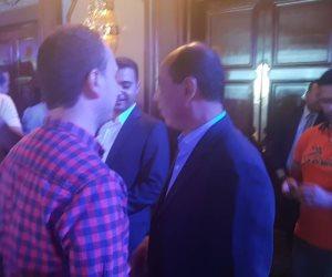 ظهور علاء عبد الصادق في تكريم حسن حمدي.. وشوبير يقدم الحفل