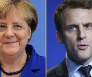 الإليزيه: ميركل تزور باريس لمناقشة مستقبل أوروبا مع ماكرون الجمعة
