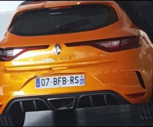 صورة جديدة تبرز بعض ملامح رينو ميجان RS