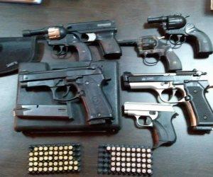 القبض على عصابة استغلت الخصومات الثأرية بقنا لترويج 106 قطع سلاح