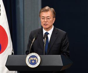 """رئيس كوريا الجنوبية: """"زيادة الضغط على بيونج يانج سيجبرها على التخلى عن برنامجها النووى"""""""