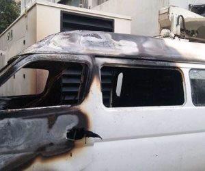 على طريقة فيلم المشبوه.. سائق يتهم أخيه بإشعال النيران في سيارته بسوهاج