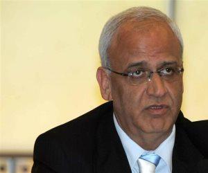عريقات: القيادة الفلسطينية تعقد الليلة جلسة طارئة لبحث التطورات الأخيرة
