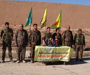 """حملة """"غضب الفرات"""" تقتحم حي الصناعة وحطين بالرقة شمال سوريا"""