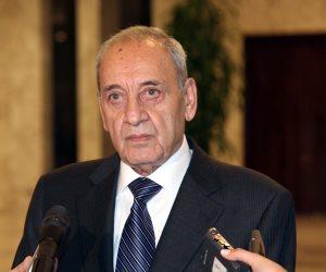 رئيس مجلس النواب اللبنانى: الوضع فى البلاد خطيرًا.. ومتمسك بالحريرى رئيسا للحكومة