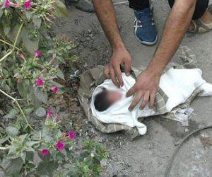 العثور على رضيع يبلغ من العمر 3 أيام بجوار مسجد في بلبيس