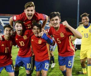 اسبانيا تحسم بطولة أوروبا للناشئين للمرة التاسعة على حساب انجلترا