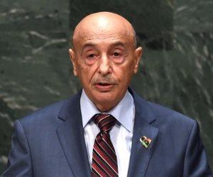 رئيس مجلس النواب الليبي: نطالب جميع الأطراف بوقف فوري لإطلاق النار