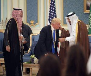 ترامب يلتقي ولي العهد السعودي في الرياض
