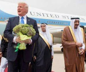 ترامب وسر الـ14 ساعة.. خبايا الرحلة إلى بلاد الحرمين