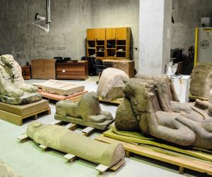 مدير المتحف المصري: ترميم مستمر لنحو ٧٠  ألف قطعة أثرية بالمخازن