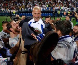 20 صورة من احتفالية ريال مدريد بلقب الدورى الإسباني