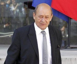 وزير خارجية فرنسا:  العملية العسكرية الأميركية البريطانية الفرنسية «شرعية»
