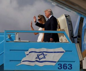 ترامب يختتم رحلته في الشرق الأوسط ويتجه إلى ايطاليا (صور)