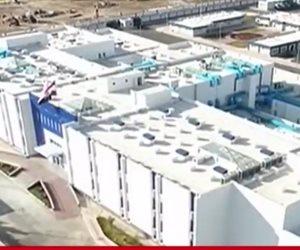 الرئيس السيسي يفتتح عددا من المشروعات التنموية في دمياط