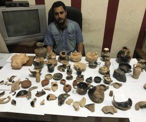 تفاصيل القبض على ليبي عقب بيعه قطع أثرية مهربة من بني غازي