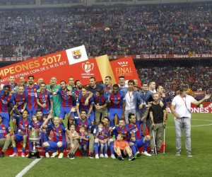 صحيفة : ريال مدريد لم يهنيء برشلونة بالتتويج بكأس أسبانيا