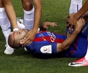 برشلونة يعلن غياب ماسكيرانو لـ6 أسابيع