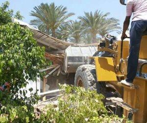 إزالة ٧ حالات تعد على الأراضي الزراعية بمساحة 800م2 بسمنود